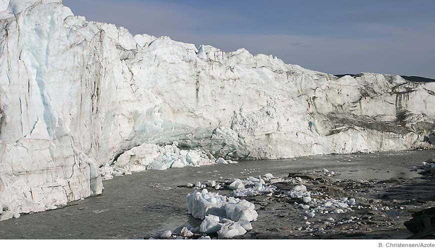 Bild - Så bildades glaciala undervattenslandskap i Arktis