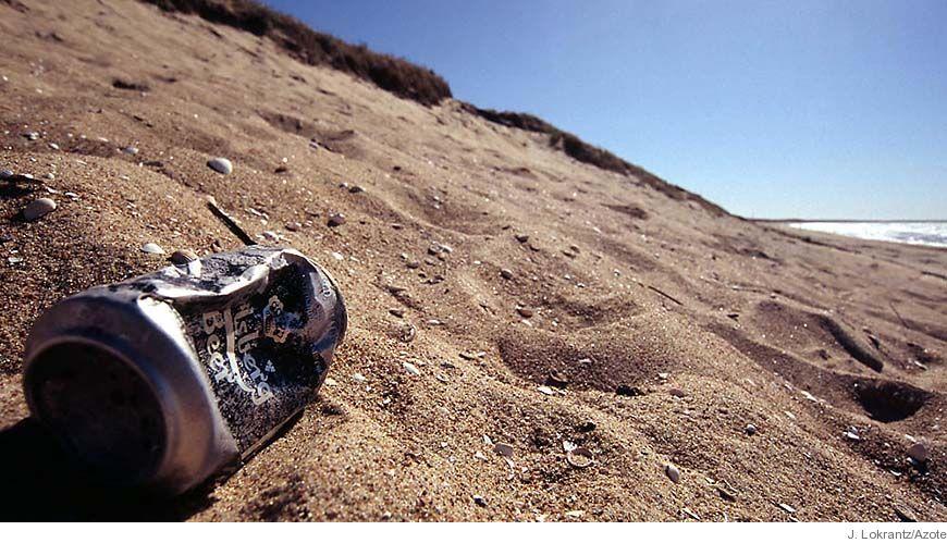 Bild - Strandskräp i Bohuslän - en internationell miljöfråga