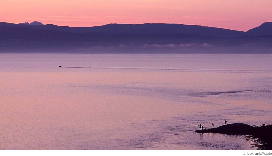 Bild - Fiskbestånd och miljö i hav och sötvatten. Resurs- och miljööversikt 2010