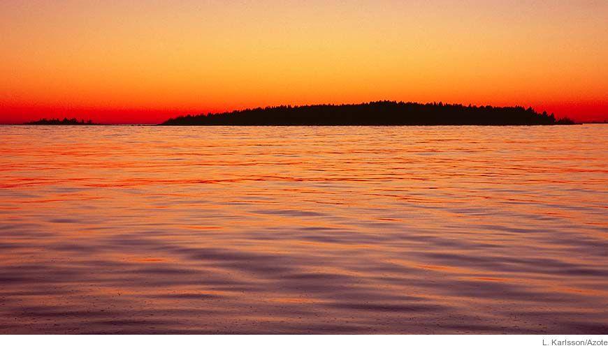 Bild - Havsmiljöns tillstånd ur miljömålsperspektiv