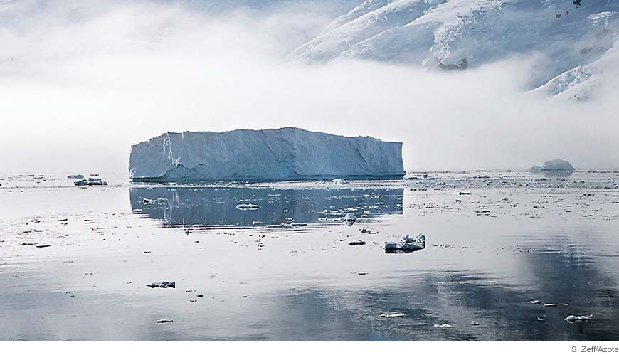 Bild - Havets strömmar och cirkulation i västra Antarktis