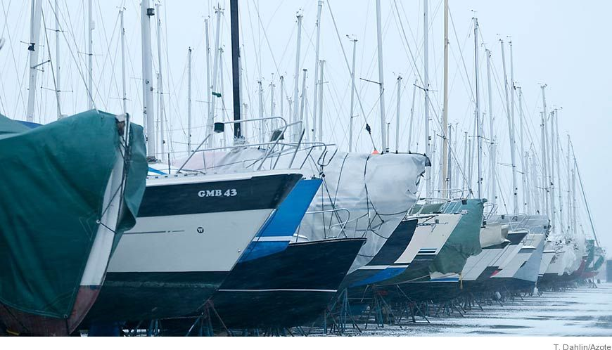 Bild - Användning och miljöpåverkan av giftig båtbottenfärg i Östersjön