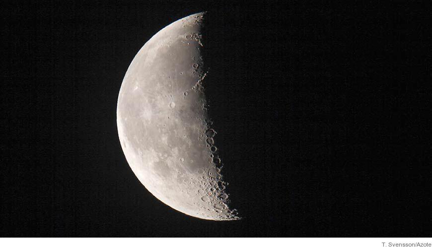 Bild Månen leder ålen rätt