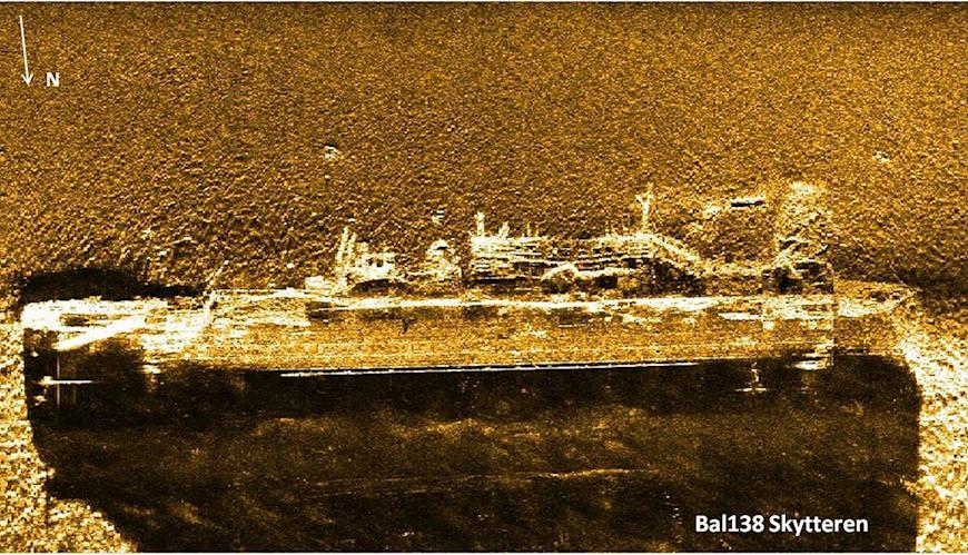 Bild - Skeppsvrakens miljörisker: modellutveckling och användning